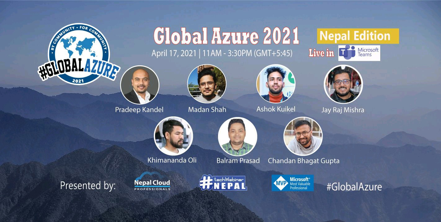 Global Azure Bootcamp 2021 Nepal
